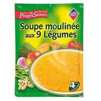 Leader Price Les Potages Saveurs 9 légumes, déshydratée à cuire