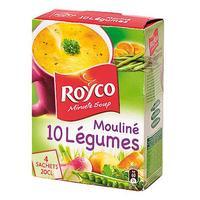 Royco Minute Soup 10 légumes, instantannée