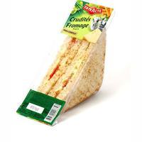 Entr'Acte Crudités fromage frais pain complet