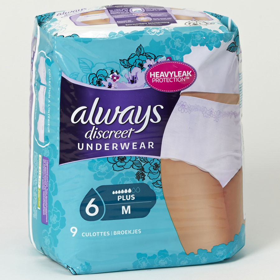 Always Discreet Underwear -