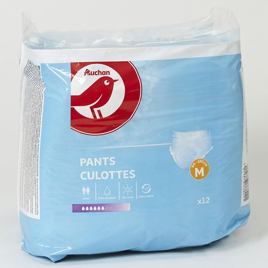 Test Auchan Culottes Protections Pour Incontinence Ufc