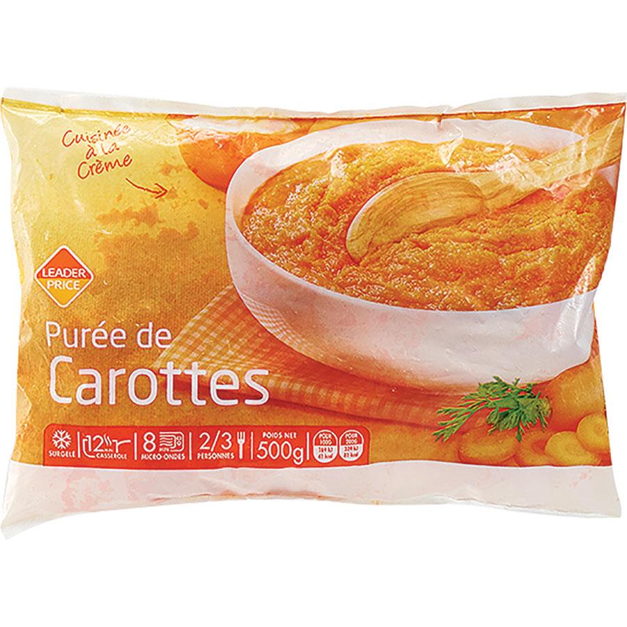Leader Price Purée de carottes -