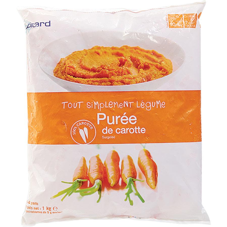 Picard Purée de carotte - Tout simplement légume -