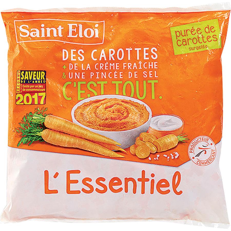 Saint Eloi (SélectionIntermarché) Purée de carottes – L'essentiel -
