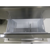 Beko GNE60521X - Intérieur du deuxième tiroir du congélateur