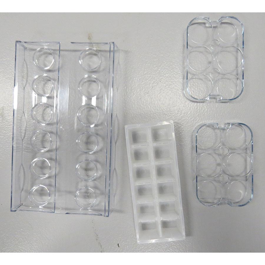Candy CCMN 7182 - Intérieur du deuxième tiroir du congélateur