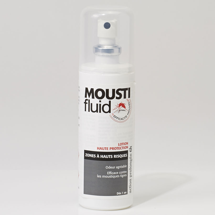 Moustifluid Lotion Zones à hauts risques -