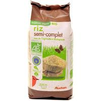 Auchan Bio Riz semi-complet
