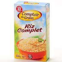 Comptoir du grain (Leclerc) Riz complet