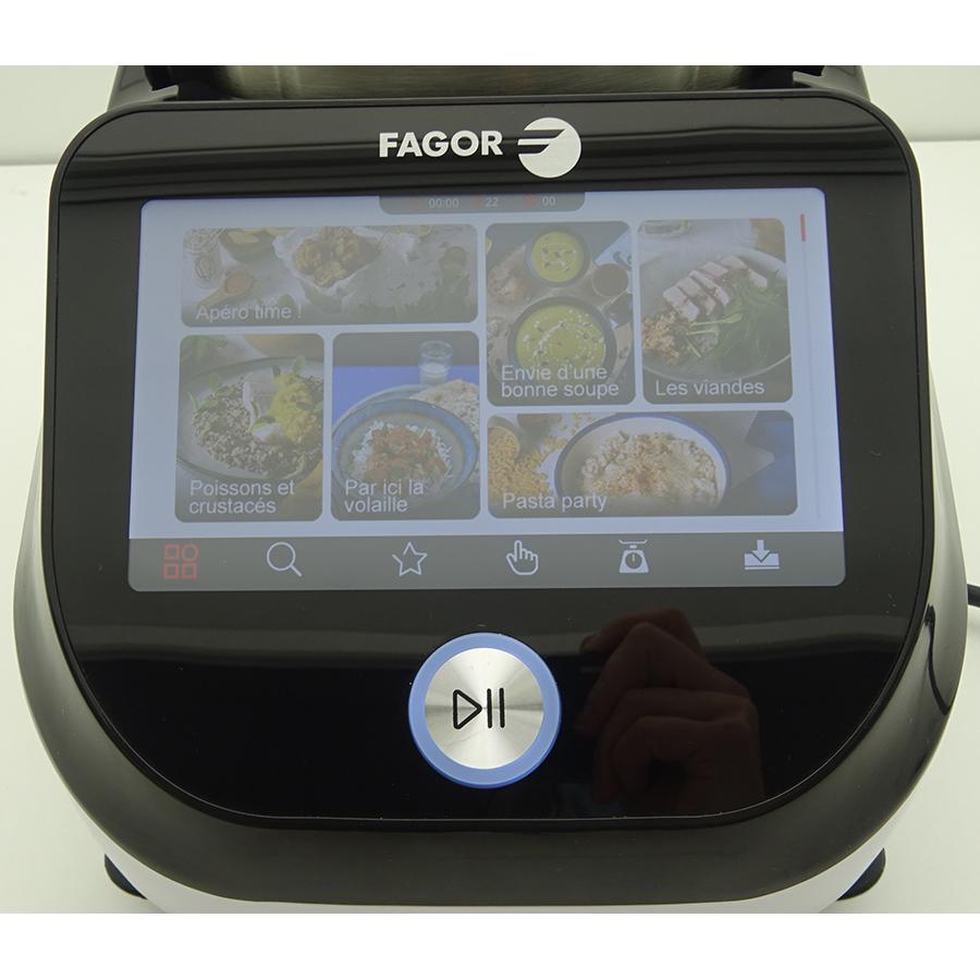 Fagor Connect Compact FG2605 - Afficheur et bandeau de commandes