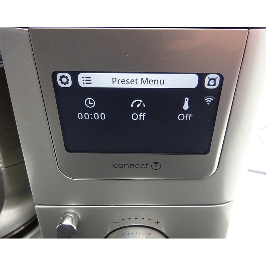Kenwood Cooking Chef Experience KCL95.429SI - Afficheur et bandeau de commandes