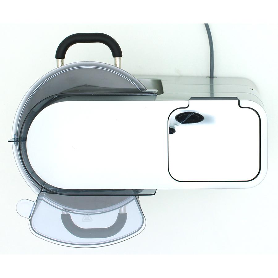 Kenwood Cooking Chef Experience KCL95.429SI - Vue de dessus avec le couvercle