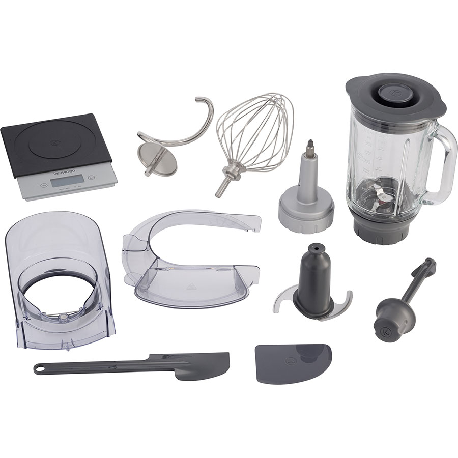 Kenwood Cooking Chef Gourmet KCC9063S - Accessoires fournis