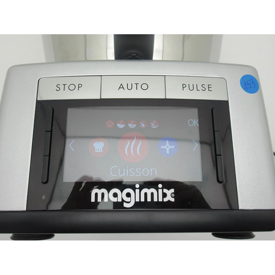 Magimix Cook Expert Premium XL 18909 - Afficheur et bandeau de commandes