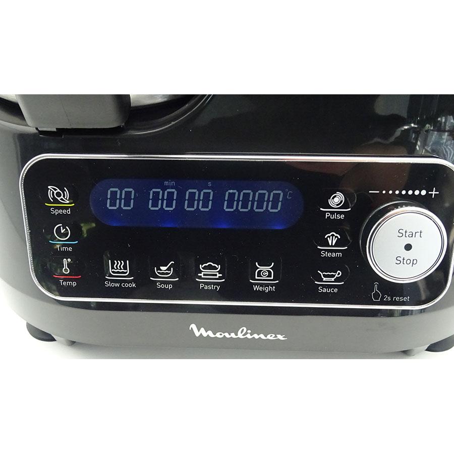 Moulinex Clickchef HF456810 - Afficheur et bandeau de commandes