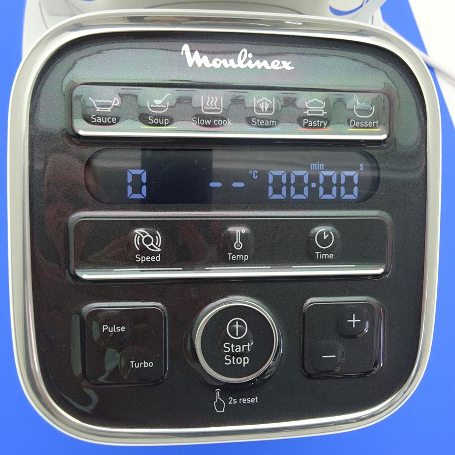 Moulinex Companion XL HF80CB10 - Afficheur et bandeau de commandes