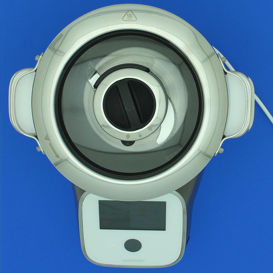 Moulinex I-Companion Touch XL HF938E00 - Vue de dessus avec le couvercle