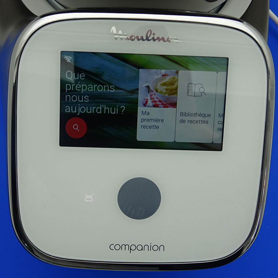 Moulinex I-Companion Touch XL HF938E00 - Afficheur et bandeau de commandes