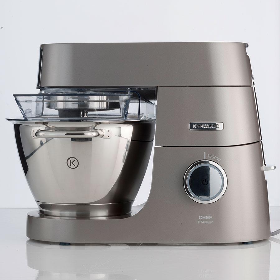 Kenwood Chef Titanium KVC7305S - Vue de côté