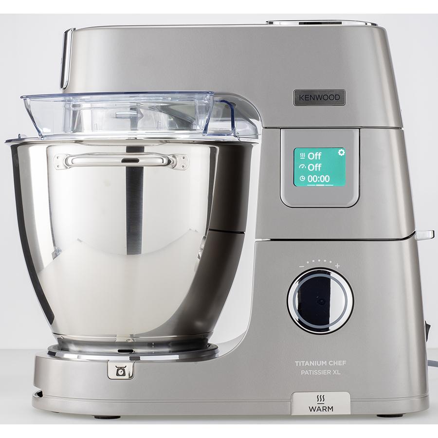 Kenwood Titanium Chef Pâtissier XL KWL90.009SI - Vue de face