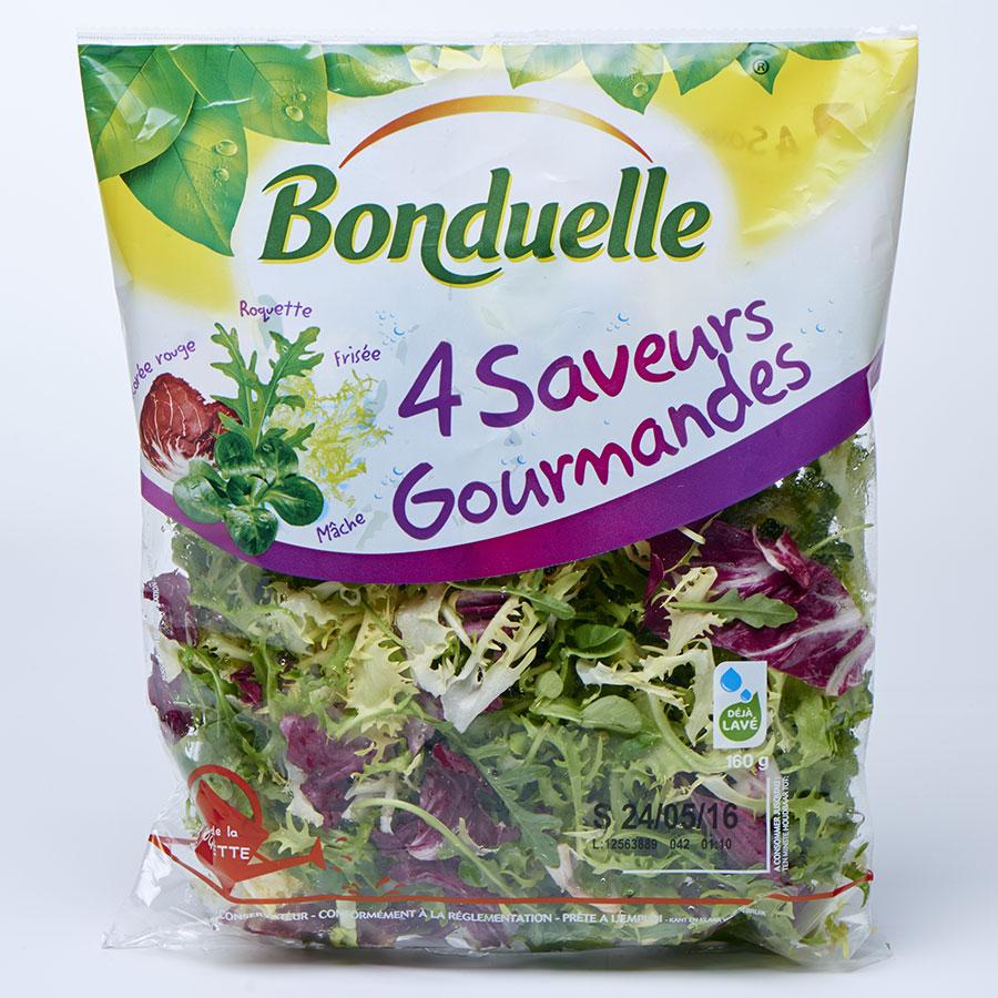Bonduelle 4 saveurs gourmandes(*3*) -