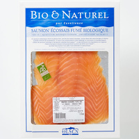 Bio & naturel (Olsen bio) Saumon écossais fumé biologique