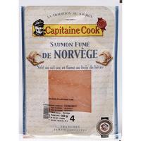 Capitaine Cook (Sélection Intermarché) Saumon fumé de Norvège