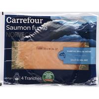 Carrefour Saumon fumé Norvège