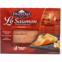 Delpeyrat Le Saumon, fumé extra Écosse