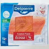 Delpierre Saumon fumé Écosse