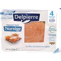 Delpierre Saumon fumé Norvège