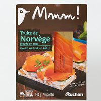 Mmm! (Auchan) Truite de Norvège
