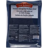 Top budget (Intermarché) Saumon sauvage du Pacifique fumé
