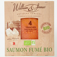 William & James Saumon fumé bio