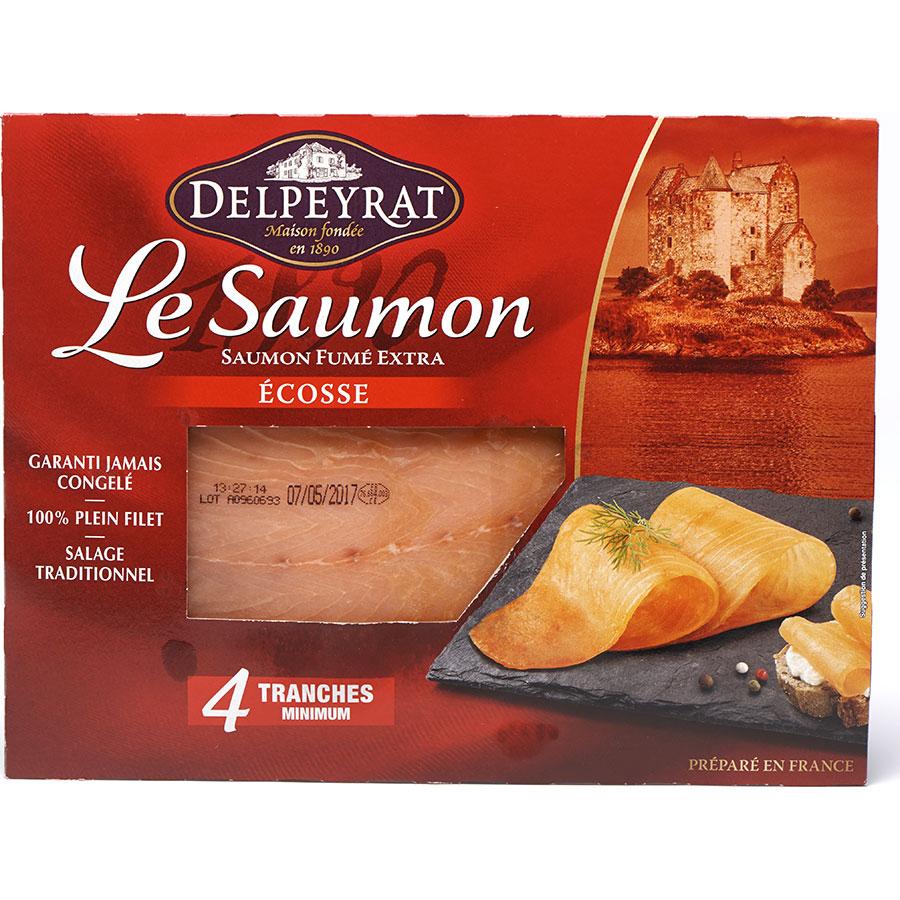Delpeyrat Le Saumon, fumé extra Écosse -