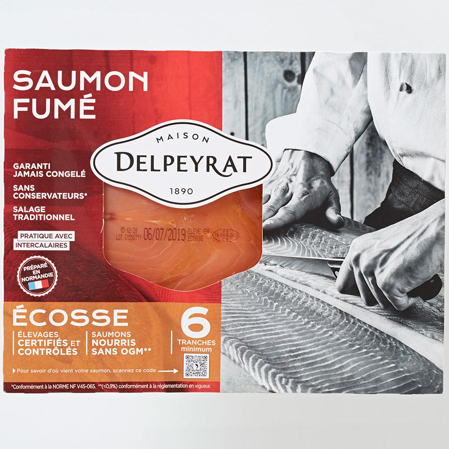 Delpeyrat Saumon fumé Écosse -