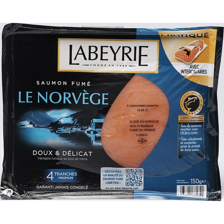Labeyrie Saumon fumé Le Norvège -