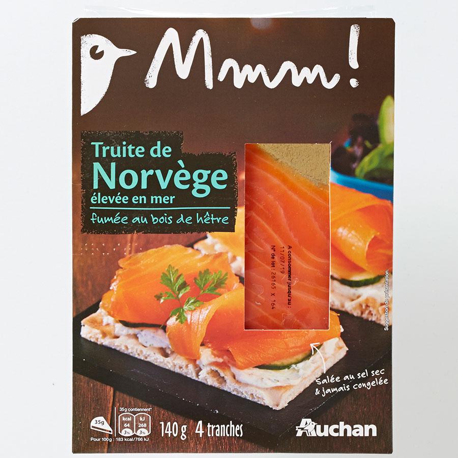 Mmm! (Auchan) Truite de Norvège -