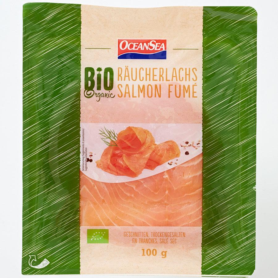 OceanSea (Lidl) Bio saumon fumé -