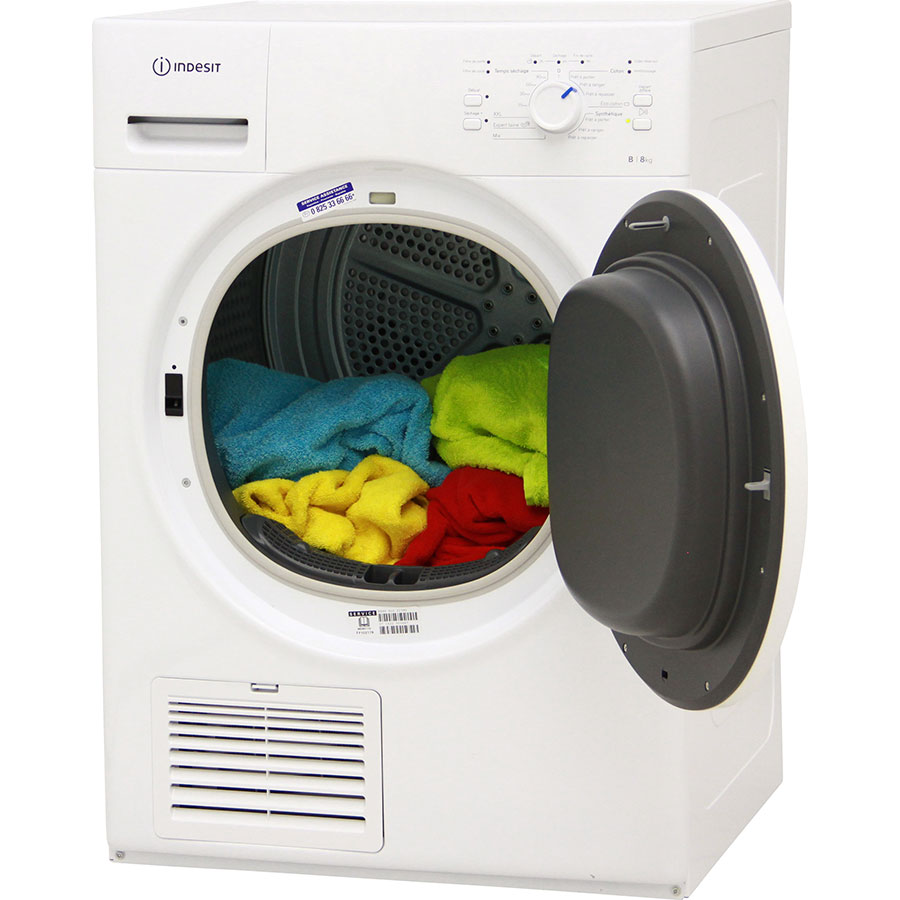 Test indesit ind80110 s che linge ufc que choisir for Que choisir seche linge condensation