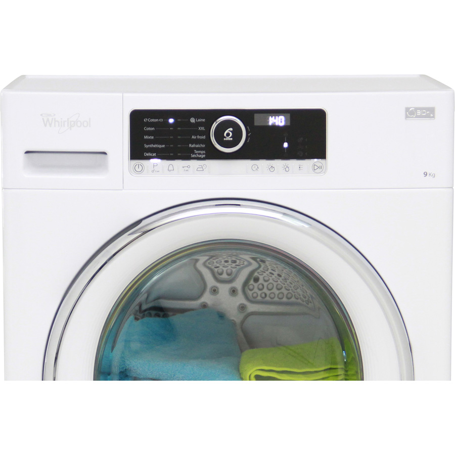 test whirlpool hscx 90422 s che linge ufc que choisir. Black Bedroom Furniture Sets. Home Design Ideas