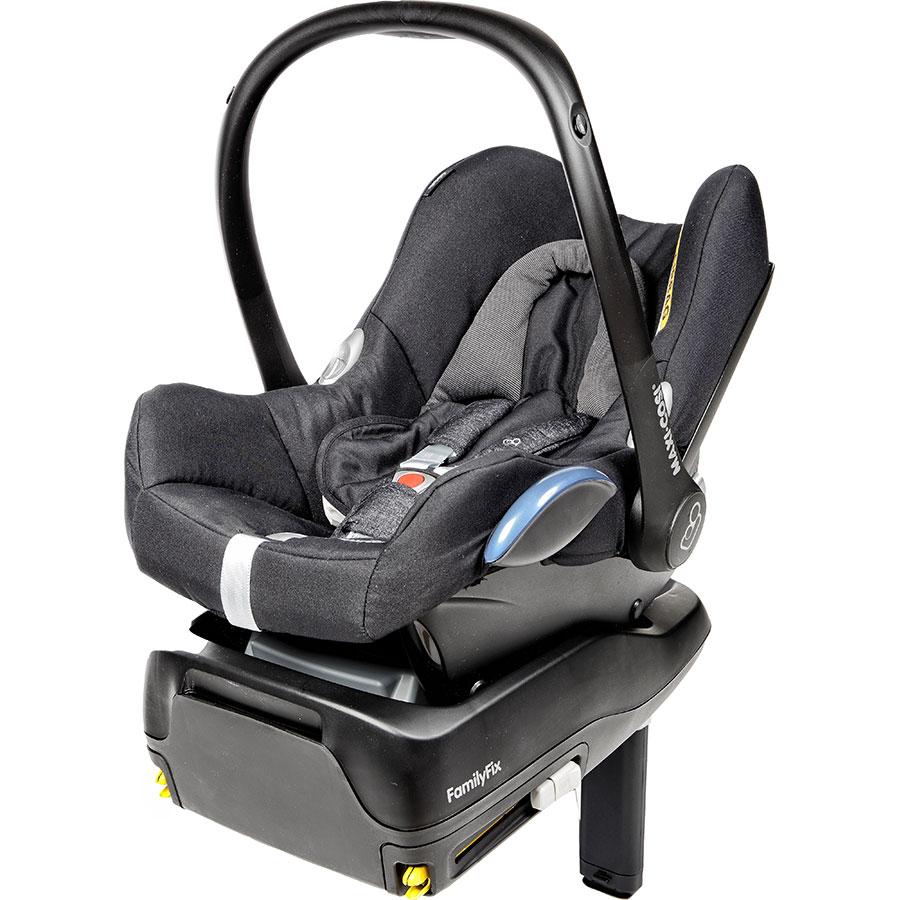 Bébé Confort CabrioFix + base FamilyFix -