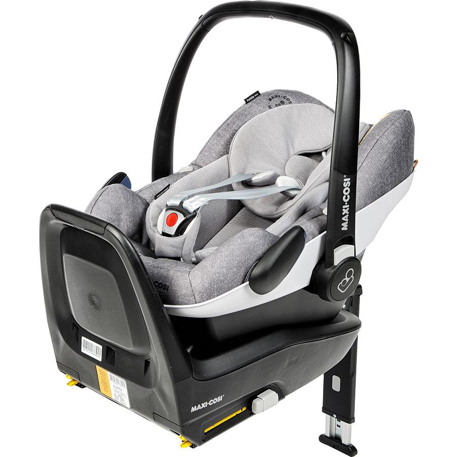 Bébé Confort Pebble Pro + base FamilyFix One - Siège sur la base i-Size