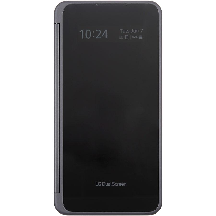 LG G8X ThinQ - Vue du smartphone plié