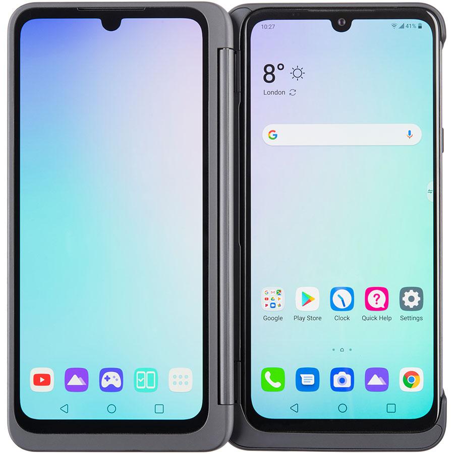 LG G8X ThinQ - Vue du smartphone déplié