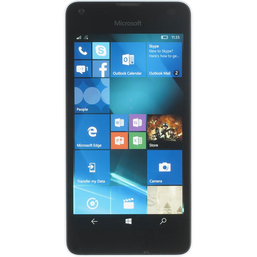 Microsoft Lumia 550 - Vue principale