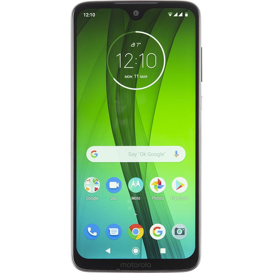 Motorola Moto G7 - Vue de face