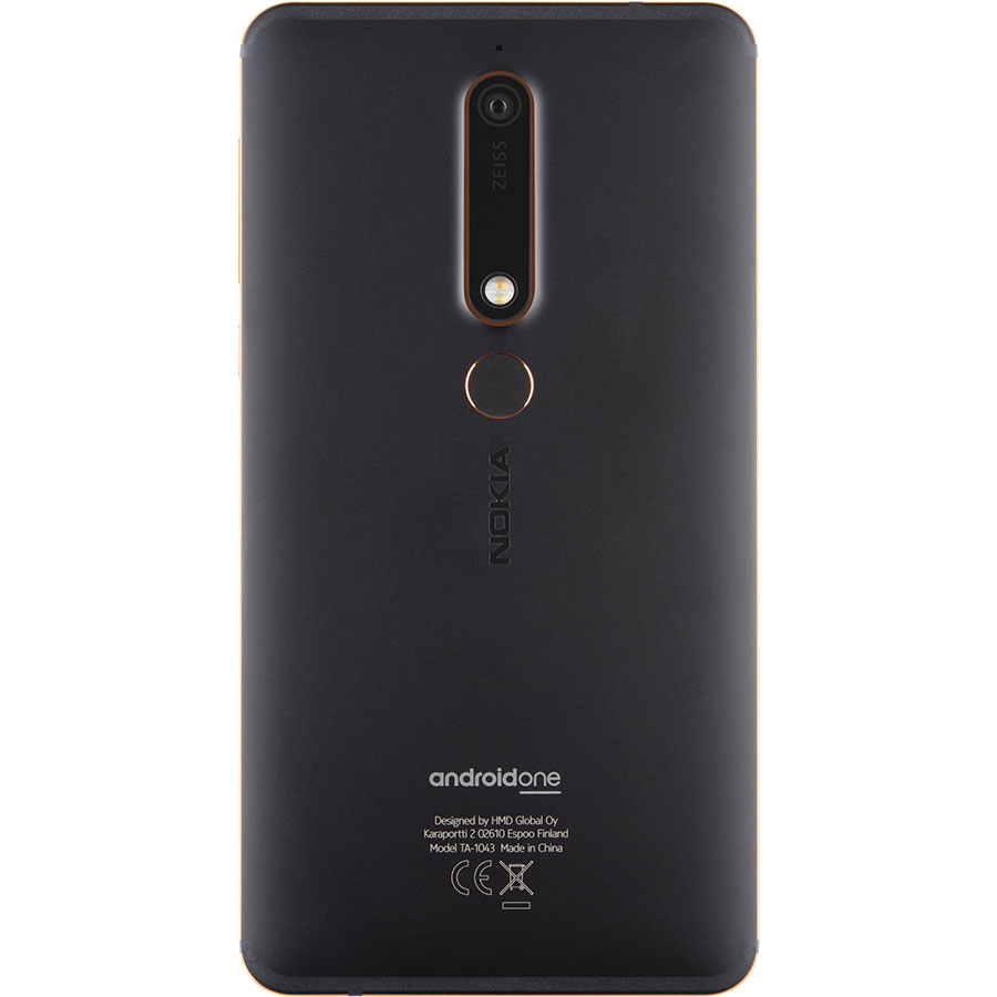 Nokia 6.1 2018 - Vue de dos