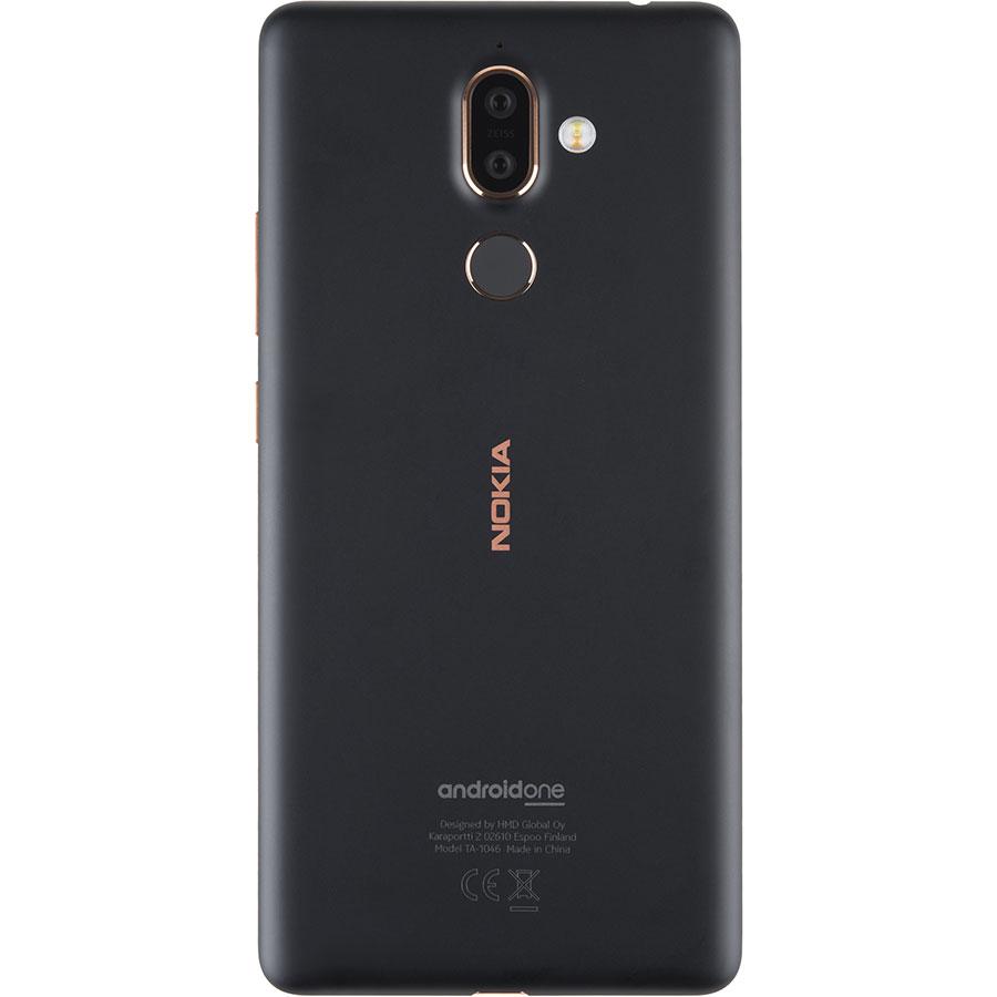 Nokia 7 Plus - Vue de dos