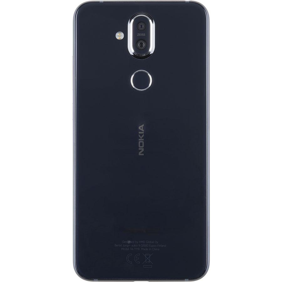 Nokia 8.1 - Vue de dos